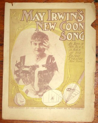 The Spanish Coon - May Irwin's New Coon Song (Sheet music)